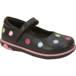 Girls Willits Freckles Brown Leather/Multi Dots