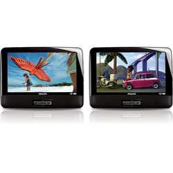 Philips PET9422 9 inch Dual screen Portable DVD Player (Refurbished