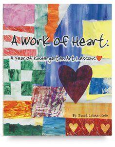 A Work of Heart A Year of Kindergarten Art Lessons   64