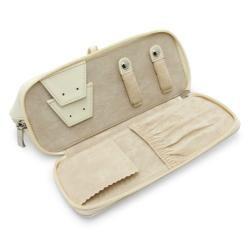 Morelle Rachel Leather Cosmetic/ Jewelry Case
