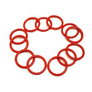 144 Pack Red Plastic Ring Toss Rings Sports & Outdoors