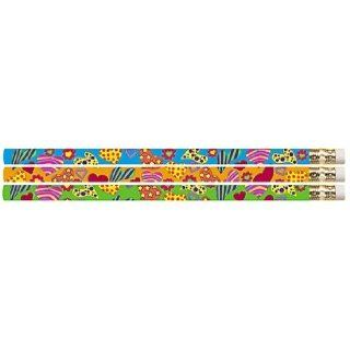 D2412 Flirty Hearts   144 Valentines Day Pencils Office