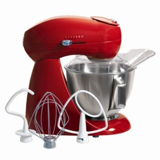 Hamilton Beach Electrics Red All metal Stand Mixer (Refurbished