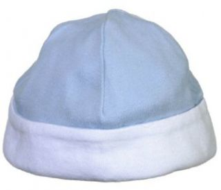 Reversible Beanie Hats. 150   One Size   Baby Blue / White Clothing