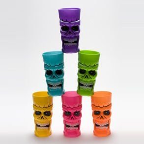 Plastic Skull Cup Toys & Games