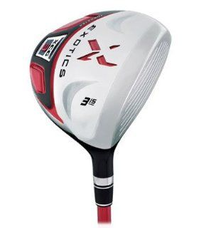 Tour Edge Exotics XCG 3 3 wood 15* 3w Mot Senior NEW