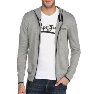 Modèle Penzance. Coloris  gris. Pull PEPE JEANS Homme, 94 % coton, 3