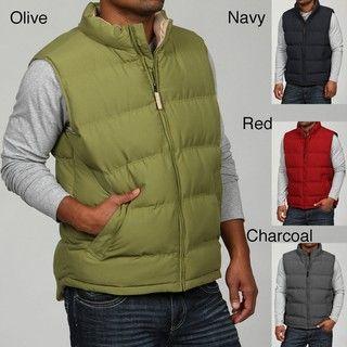 Weatherproof Mens Classic Puffer Vest FINAL SALE