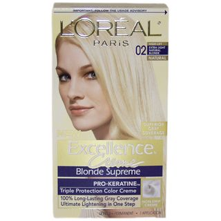 Oreal Excellence Creme Blonde Supreme High Lift Extra Light Natural