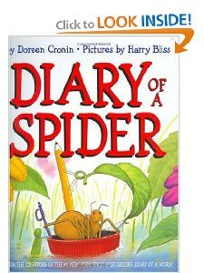 Diary of a Spider Doreen Cronin, Harry Bliss 9780060001537