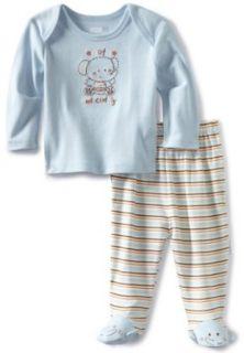 Vitamins Baby  boys Newborn 2 Piece Footed Pajama Set Cute