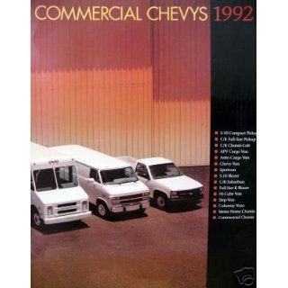 1992 Chevrolet Commercial Truck brochure