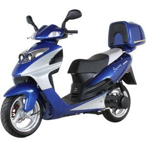 Sunny Powersports MC D150B BLUE Transporter Gas 150cc