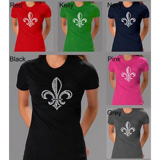 Los Angeles Pop Art Womens Fleur De Lis T shirt