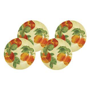 Paula Deen Georgias Bounty 4 Pack 8 Inch Salad Plate Set
