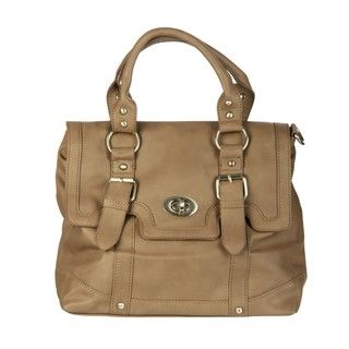 Del Cesca Strappy Messenger Bag