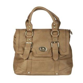 Del Cesca Strappy Messenger Bag