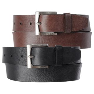 Timberland Mens Casual Genuine Leather Belt