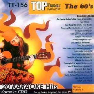 Tunes Karaoke CDG 60s Vol. 6 TT 156 Various Artists, Karaoke Music