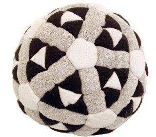 Super Hero Black, Grey & White 152 Panel Hacky Sack