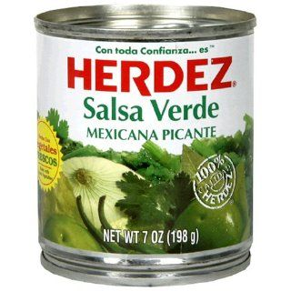 Herdez Green Salsa Verde, 7 Ounce Cans (Pack of 12)
