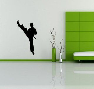 Judo Karate Fighting Sport Ninja Wall Vinyl Sticker Decals