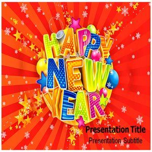 New Year Powerpoint Templates   New Year Background for