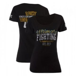 UFC 157 Womens Ronda Rousey Walkout T shirt: Clothing