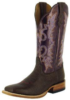 Ariat Latigo Womens Western Cowboy Boots 10 B Yuma Brown