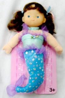 Little Cuddly 12 Soft Vinyl and Stuffed Body Mermaid Doll