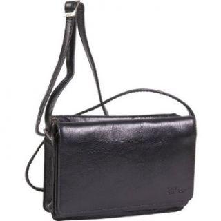 Derek Alexander Leather 34 Flap Top Zip Front Zip