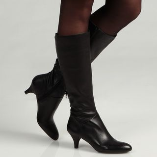 Naturalizer Womens Dinka Black Knee high Boots