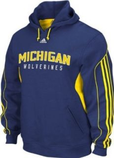Michigan Wolverines Adidas Fan Gear Pullover Hooded