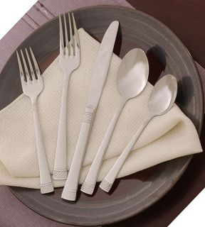 Cuisinart 89 piece Cresent Flatware Set