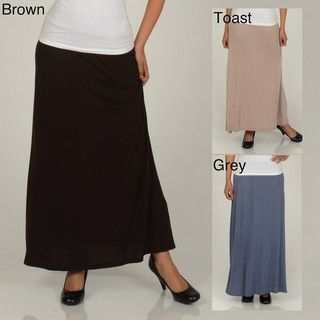 AnnaLee + Hope Womens Full Length Maxi Skirt