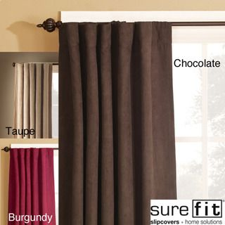 Smooth Suede Window Panel (56 in. x 84 in.)