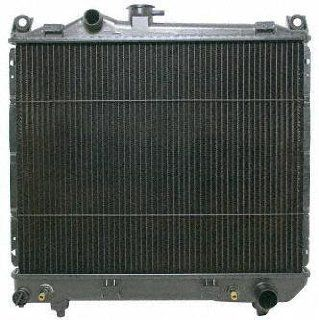 92 95 DODGE DAKOTA RADIATOR TRUCK, 4cyl; 2.5L; 153c.i. (1992 92 1993