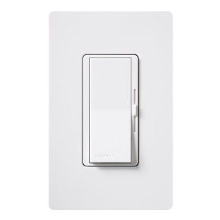 Lutron DVWCL 153PH WH Diva Dimmable CFL/LED Dimmer with Wallplate