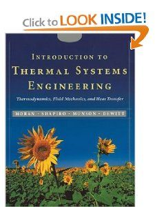 Introduction to Thermal Systems Engineering Thermodynamics, Fluid