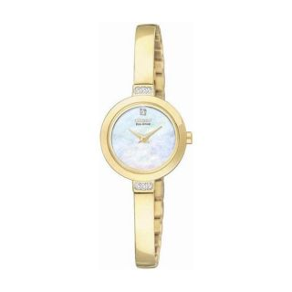 Citizen Eco Drive Womens Silhouette Bangle Goldtone Watch
