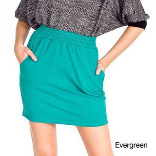 American Apparel Womens California Fleece Tulip Skirt
