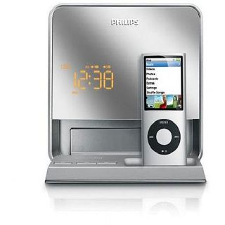 Philips DC190B/37 Digital FM Dual alarm Clock Radio/ iPod Dock