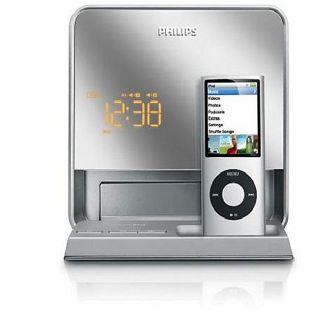 Philips DC190B/37 Digital FM Dual alarm Clock Radio/ iPod Dock