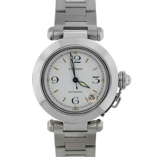 Pre owned Cartier Unisex Pasha C Series Stainless Steel Watch