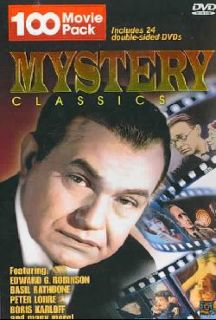 Mystery Classics   100 Movie Pack (DVD)
