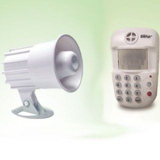 GSI Quality Wireless Wide Range IR Motion Detector With Built In Photo