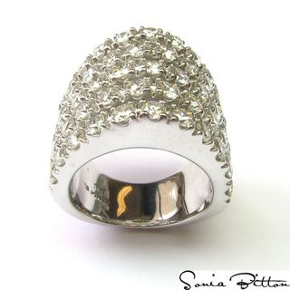 Sonia Bitton 14k Gold 4 1/2ct TDW Diamond Dome Ring (G H, SI1 SI2