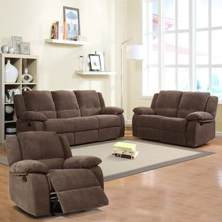 Arista Dark Olive Reclining Sofa Set