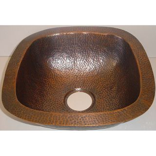 Copper All purpose 16.5 inch Bar Sink