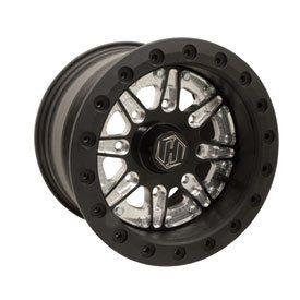 156 HiPer Sidewinder Single Beadlock Wheel 12x8 4.0 + 4.0 (Dune